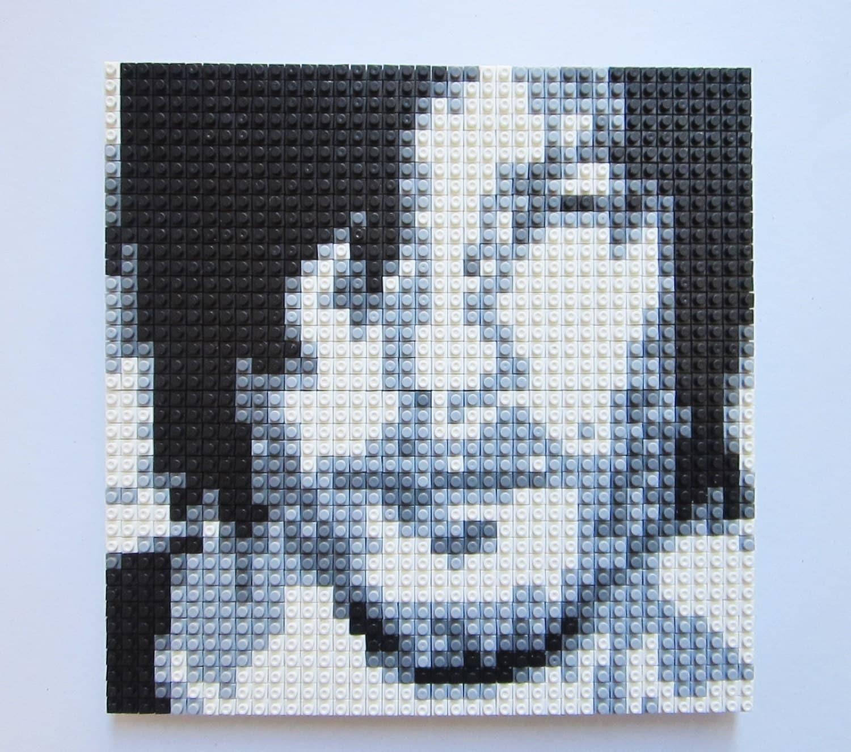 Pixel Puzzle Daryl Dixon The Walking Dead By Giftabrickmosaics