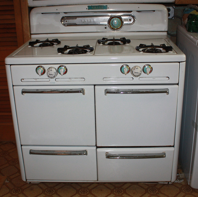 Items Similar To Beautiful Vintage Roper 4 Burner Gas