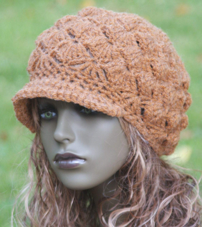 Free Crochet Patterns Newsboy Hat For Babies : Newsboy Hat Pattern For Women