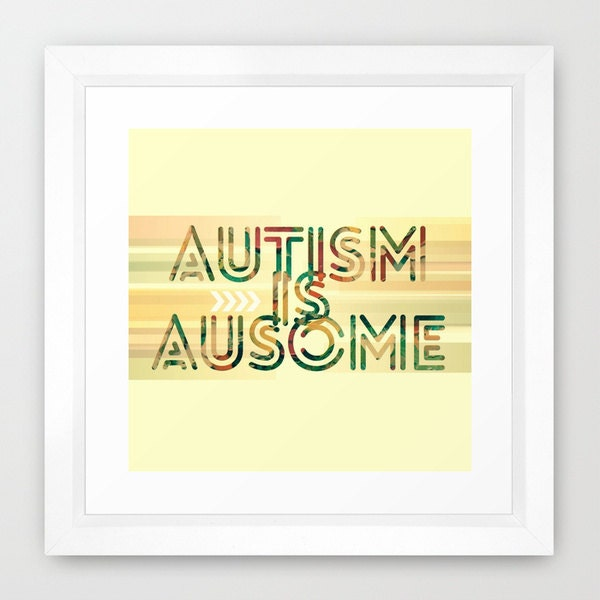 Autism Awareness Art Posters Framed Artwork: 301 Moved Permanently