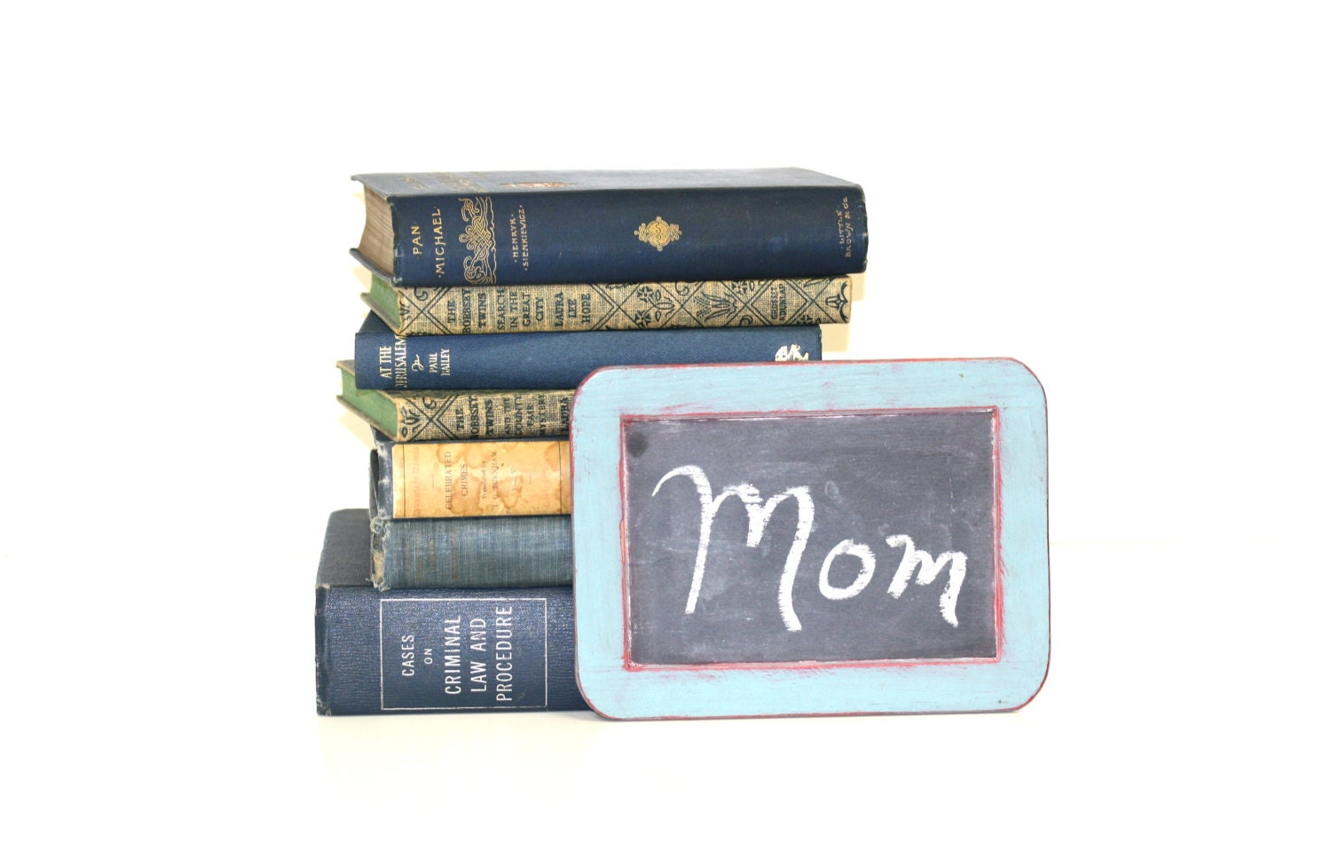 Moms Day Book Collection Interior Design Vintage Book Decor - jaysworld