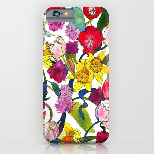 Tulips  Daffodils  Phone Case  iPhone  5c  iPhone 55s  iPhone 5c  iPhone 66s  Samsung Galaxy S7