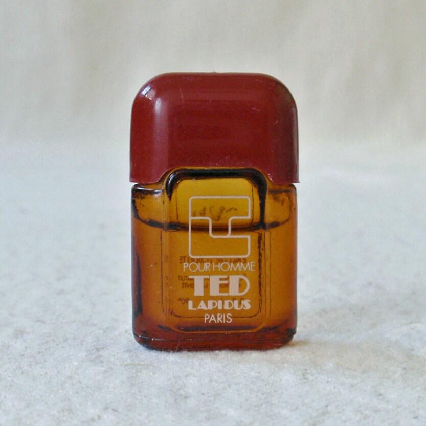 vintage ted lapidus paris pour homme fragrance by rattyandcatty. Black Bedroom Furniture Sets. Home Design Ideas