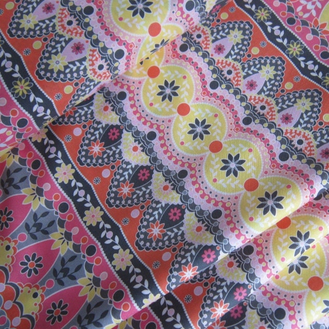 Metropolis in Pink by Jenean Morrison's Silent Cinema Collection - 1 YD - FabricFascination
