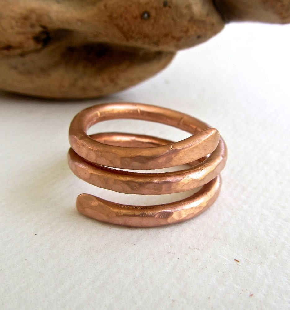 How To Make Hammered Copper Rings