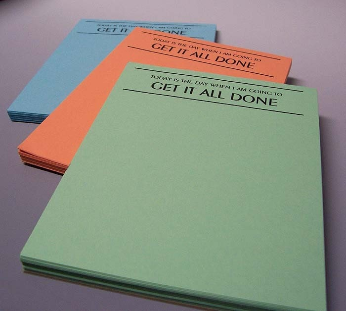 get it all done notepad