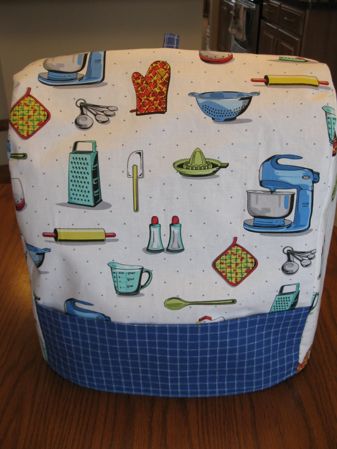 Kitchenaid Mixer Cover Fits Classic and by KathieSewHappy