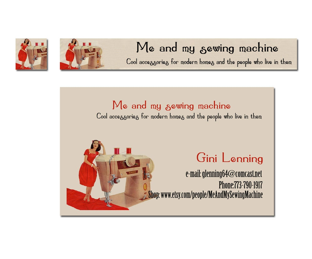 Unavailable listing on etsy for Etsy shop business cards