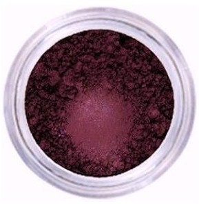 Plum Pizazz  Burgandy Purple Mineral Eyeshadow, Eyeliner, All Natural, Vegan, Highly Pigmented with Shimmer, Infused with Primer, 5 gram jar - GraceMyFaceMinerals