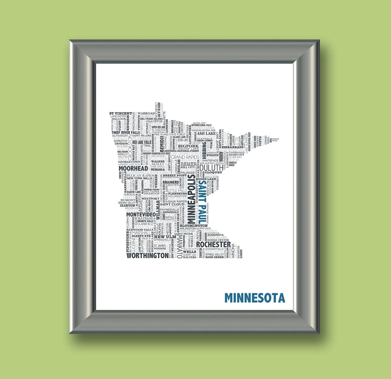Minnesota Typography