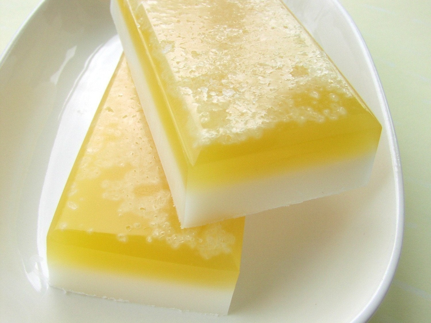 Soap - Lemon Lane Salt Bar Glycerin Soap