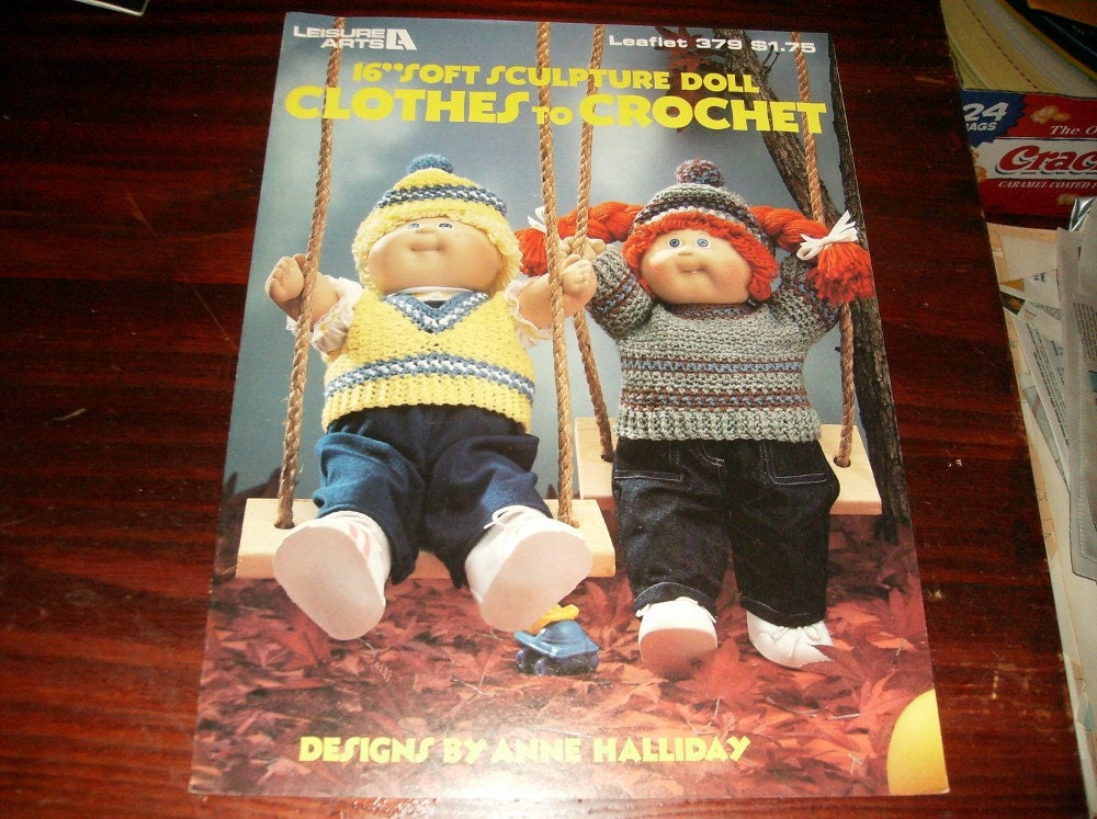 Amazon.com: 18 inch crochet doll clothes patterns