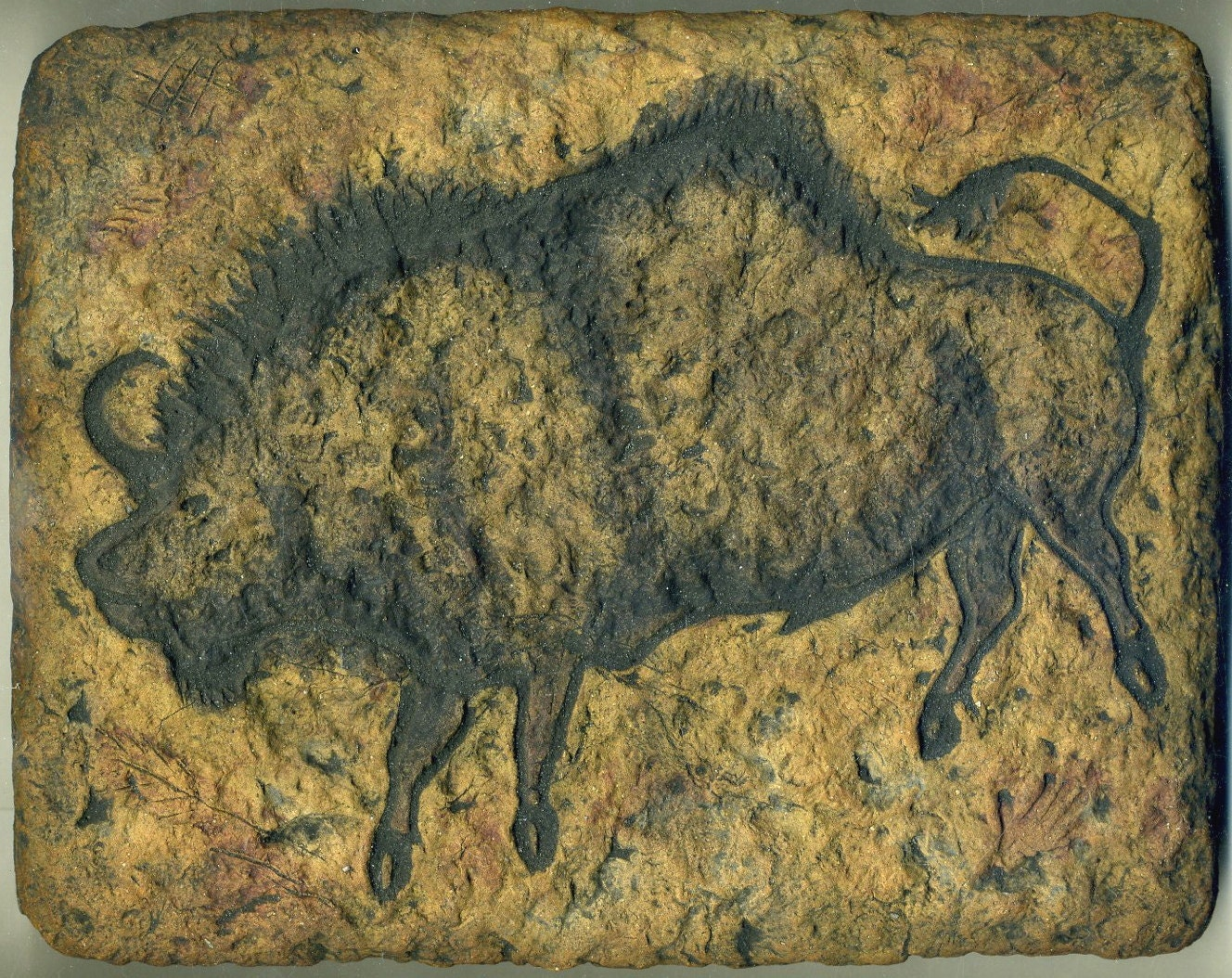 Image result for cave painting of buffalo
