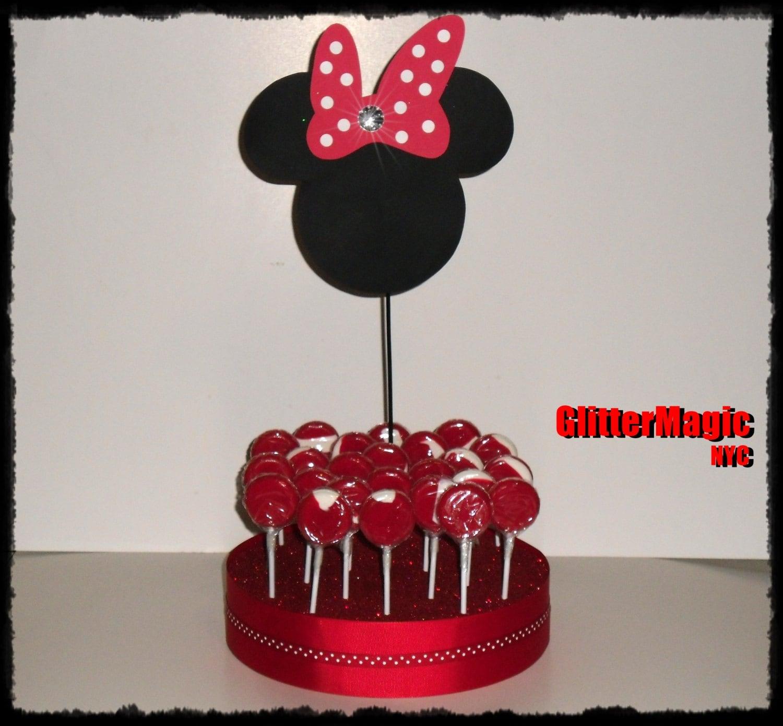 Decoracion Minnie Roja ~ Decoraci?n fiesta Minnie Mouse roja  Imagui