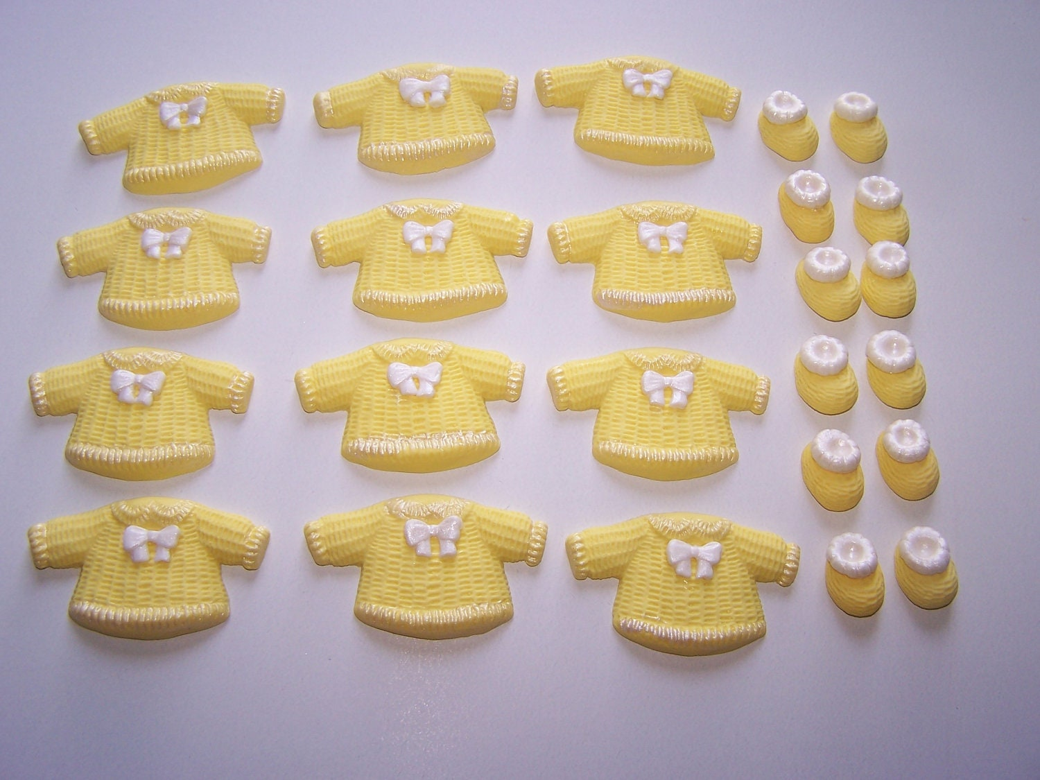 Fondant Cupcake Topper Edible Baby Shower Cake by