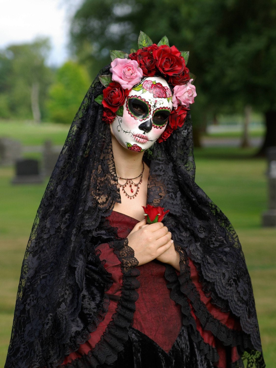 Day Of The Dead Womens Halloween Costume