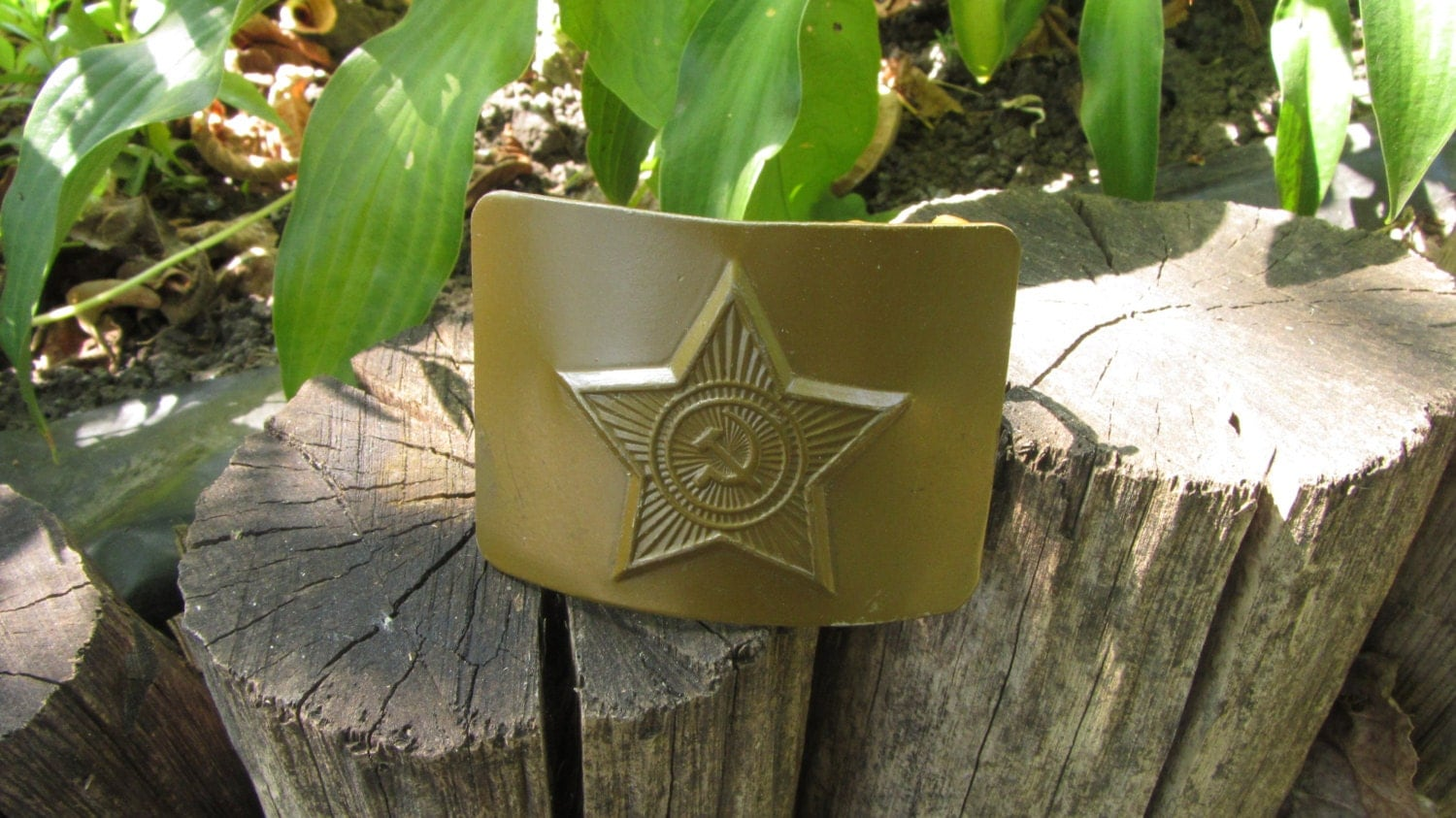 Brass Buckle Belts from Russia Soviet Union USSR set of 4, Belt Buckle Soviet US