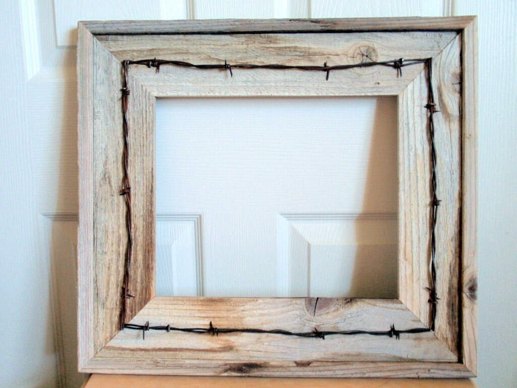 Cade Old Rustic Window Barnwood Frames Decoration for