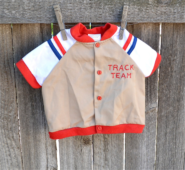 Vintage Track Shirt/ Jacket Size 12 Months - LindasTimeCompass