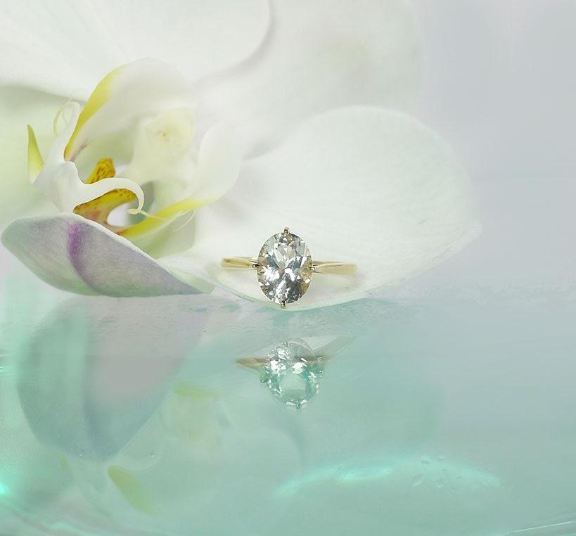 Herkimer Diamond Rings and Herkimer Diamond Jewelry