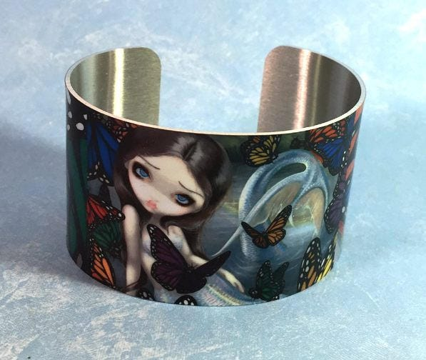 Halcyon mermaid metal cuf...