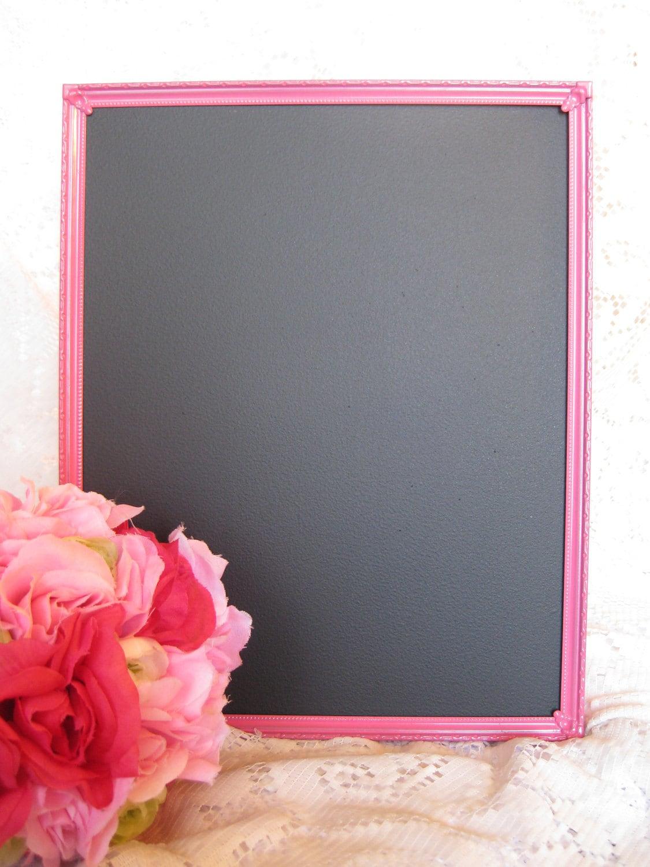 8x10 Pink Valentines Chalkboard Frame