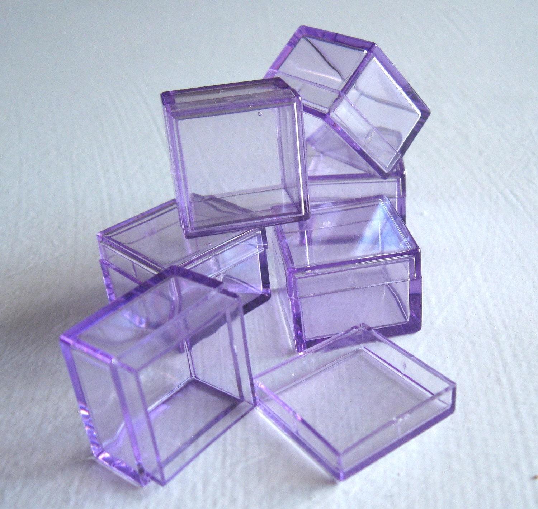 Acrylic Box Lid : Small plastic box mini skater high transparency visible