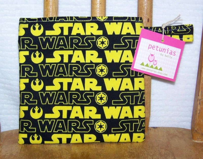 Reusable Little Snack Bag - pouch kids adults star wars eco friendly by PETUNIAS