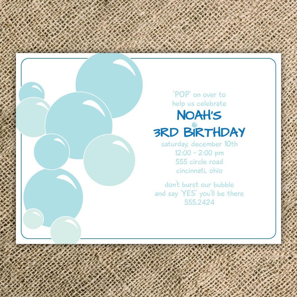 Custom Birthday Party Invitations was amazing invitations sample
