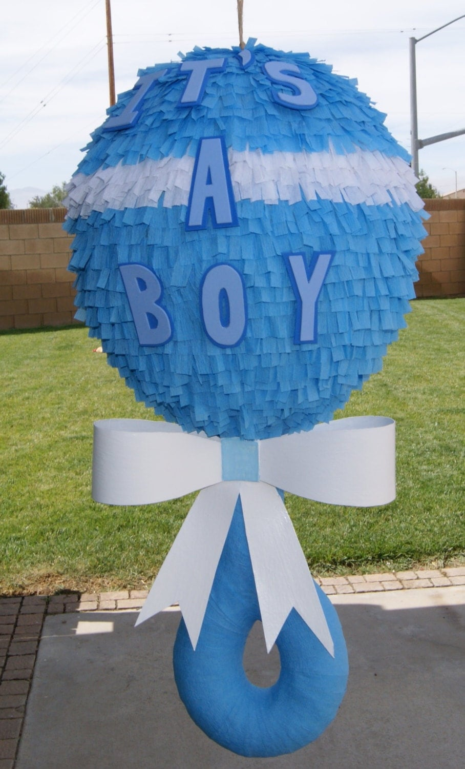 baby shower pinata party favors ideas