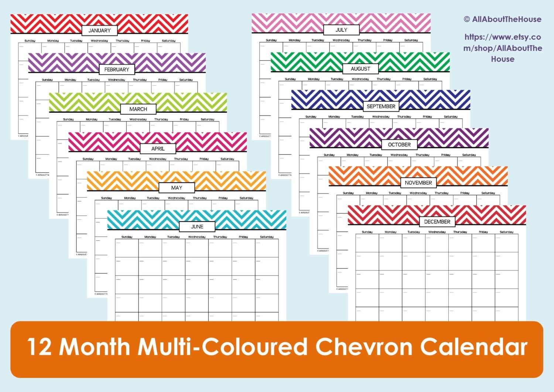 diet calendar printable