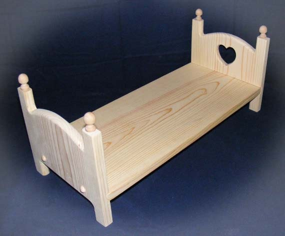... Heart Doll Bed Stackable Bunk Bed 18 inch American Girl Doll Furniture
