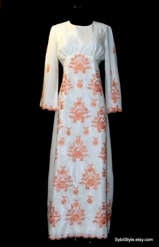 Boho Wedding Dress Size 18 : Wedding dress s by sybilstyle on etsy