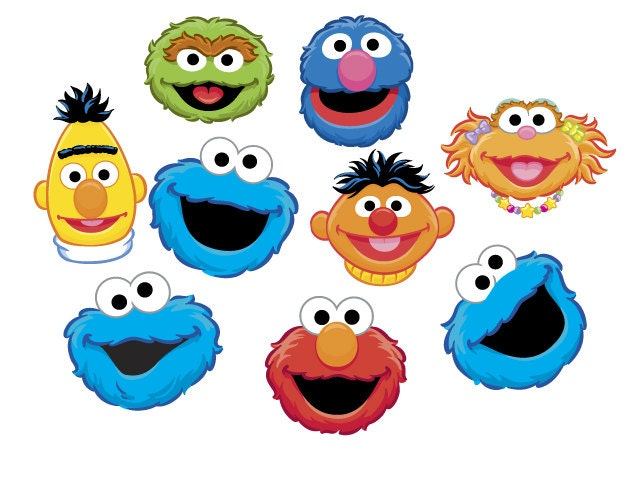 Magic image intended for printable sesame street characters
