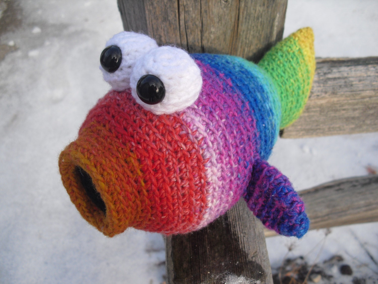 Unavailable listing on etsy for Fish stuffed animal