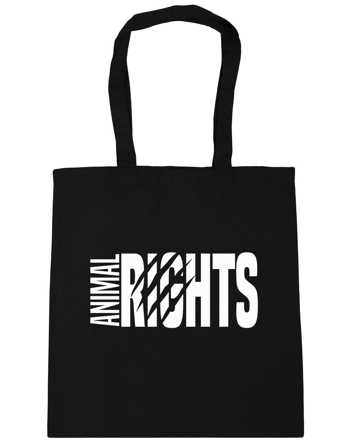 Animal Rights Tote Shopping Gym Beach Bag 42cm x38cm 10 litres