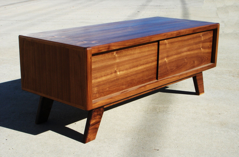 mid century modern tv console cerdenza tv stand by pmistudios. Black Bedroom Furniture Sets. Home Design Ideas