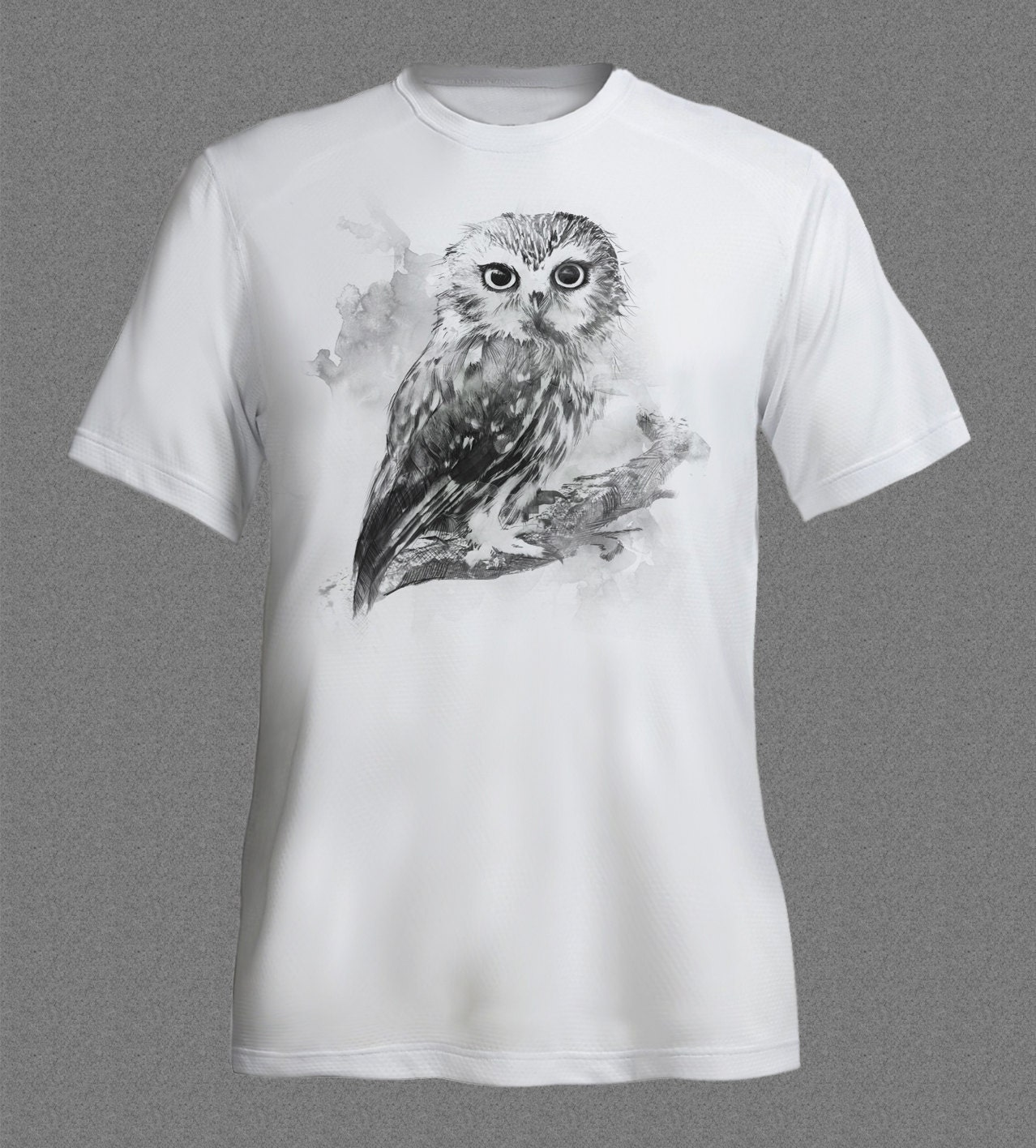 Tiny Owl Birdwatching Bird Animal Nature Tshirt