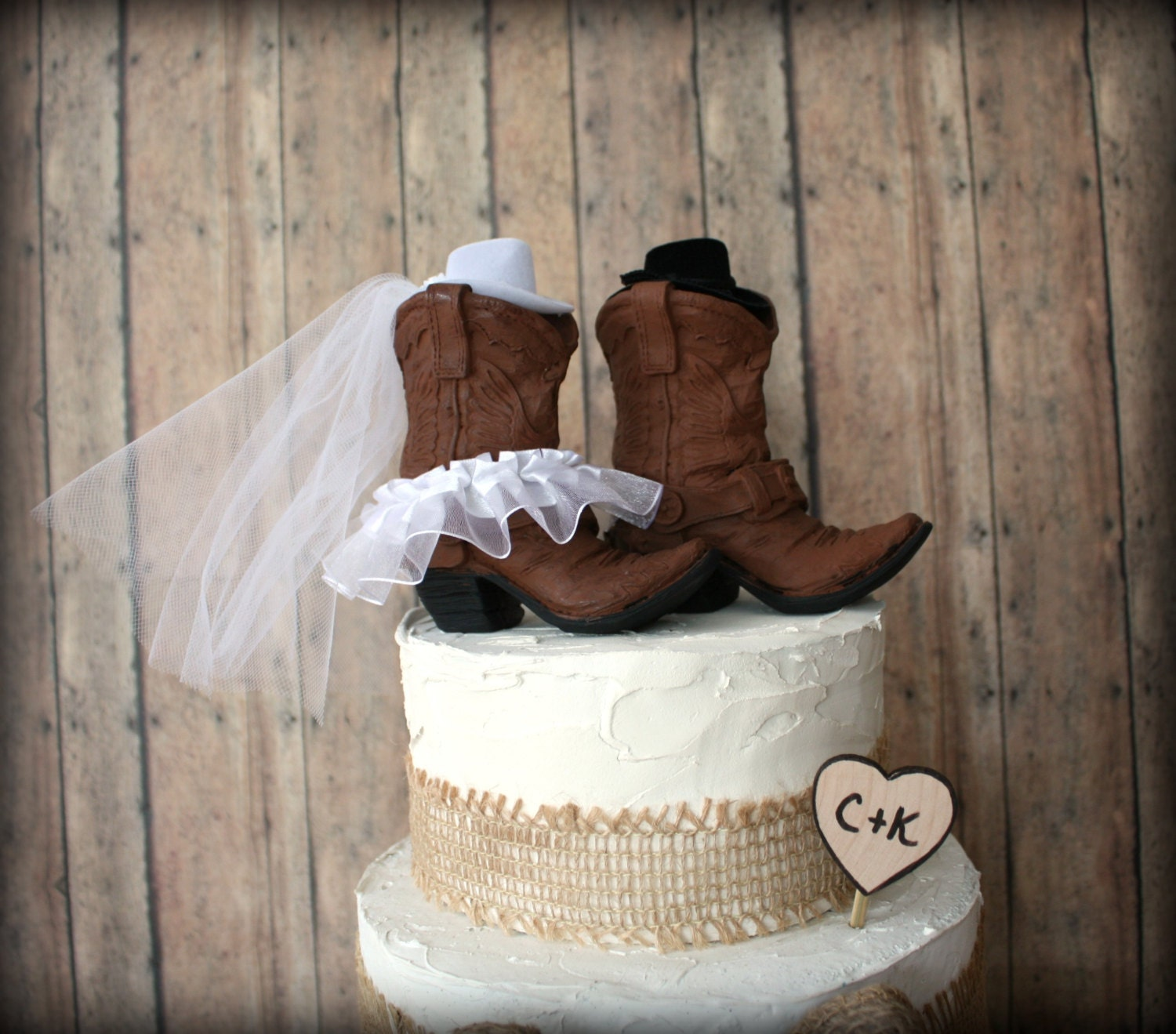 Leather Colored Boots Boots Wedding Cake By MorganTheCreator