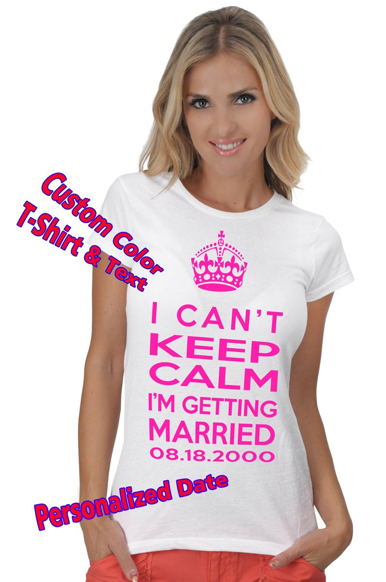 Custom bachelorette party t shirts screen printed tees for Discount custom t shirts no minimum