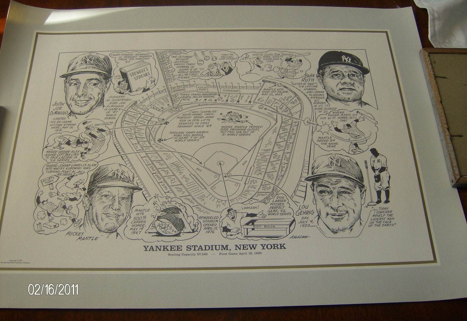 Yankee stadium seating chart print by nonisvintagedelights for Ancienne maison knives