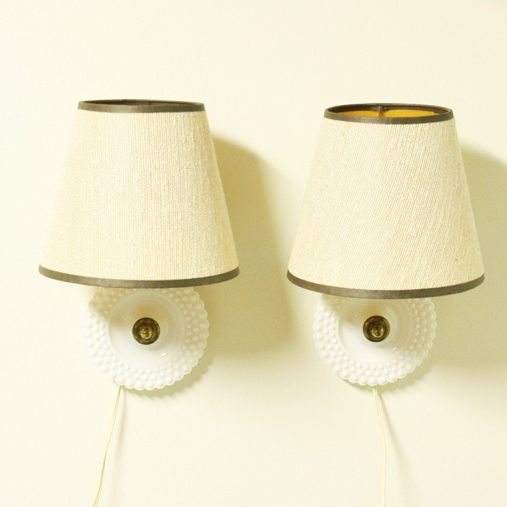 Vintage Bedside Wall Lamps : Vintage bedside lamp bedside light wall mount by OldCottonwood