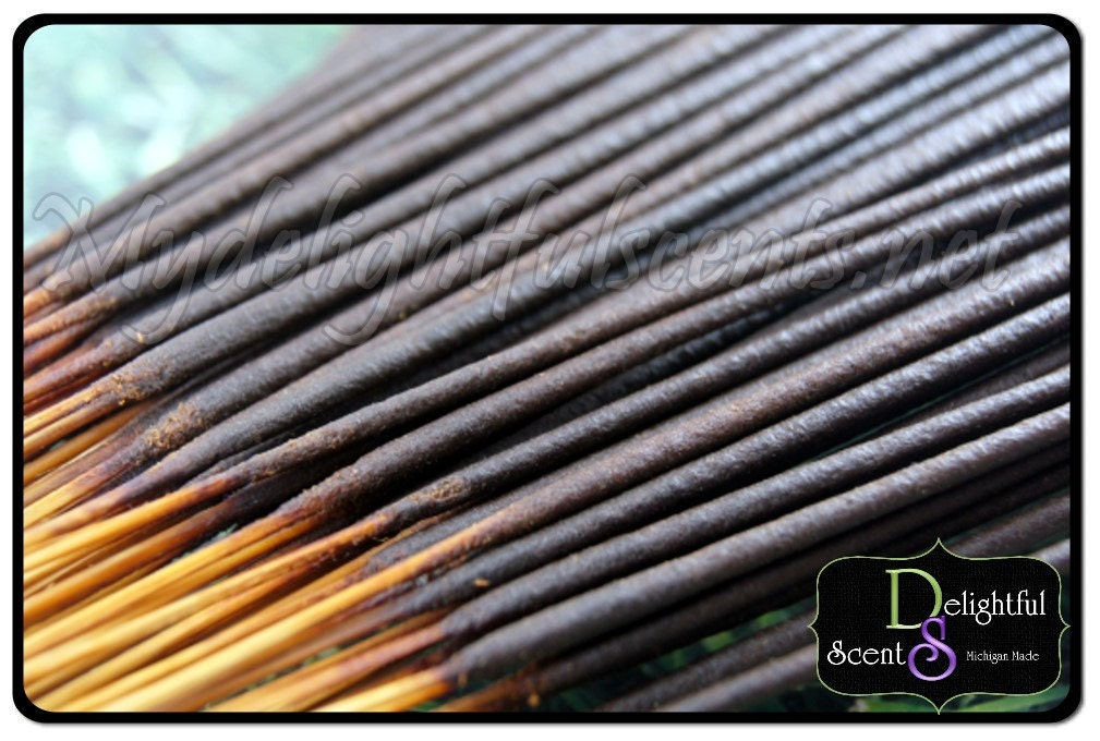 Cedar wood Vanilla Incense sticks 30 to a pack Handdipped - MyDelightfulscent