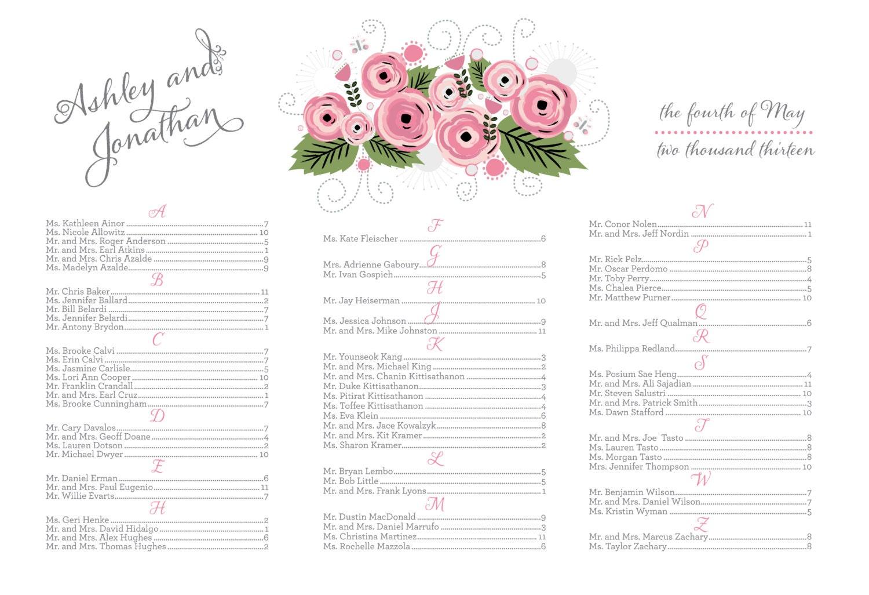 Wedding seating chart diy 24 hour turnaround seating board poster