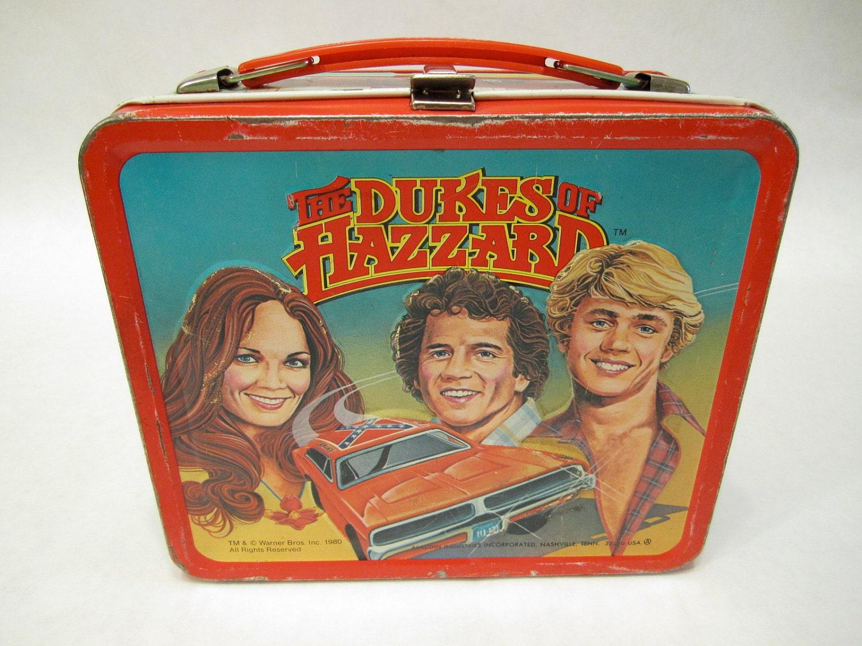 DUKES  OF  HAZARDS  Lunchbox circa 1980