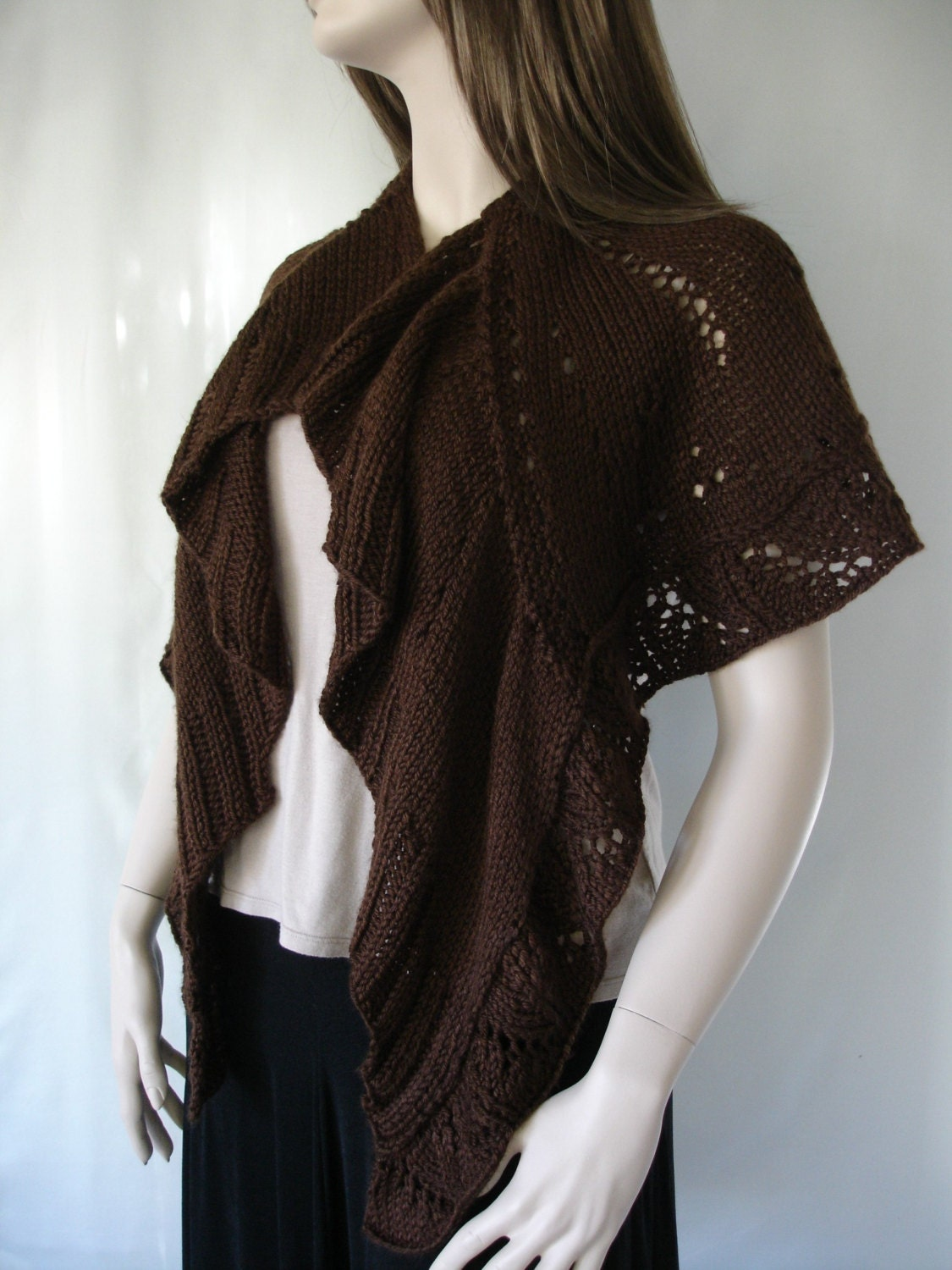 You can use a shawl