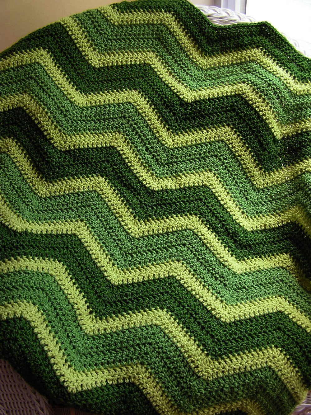Knitted Zig Zag Afghan Pattern : 301 Moved Permanently