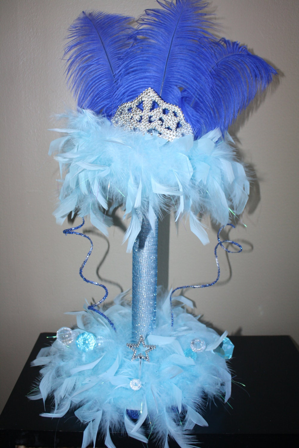 Add it to your favorites to revisit it later Quinceanera Centerpieces Blue
