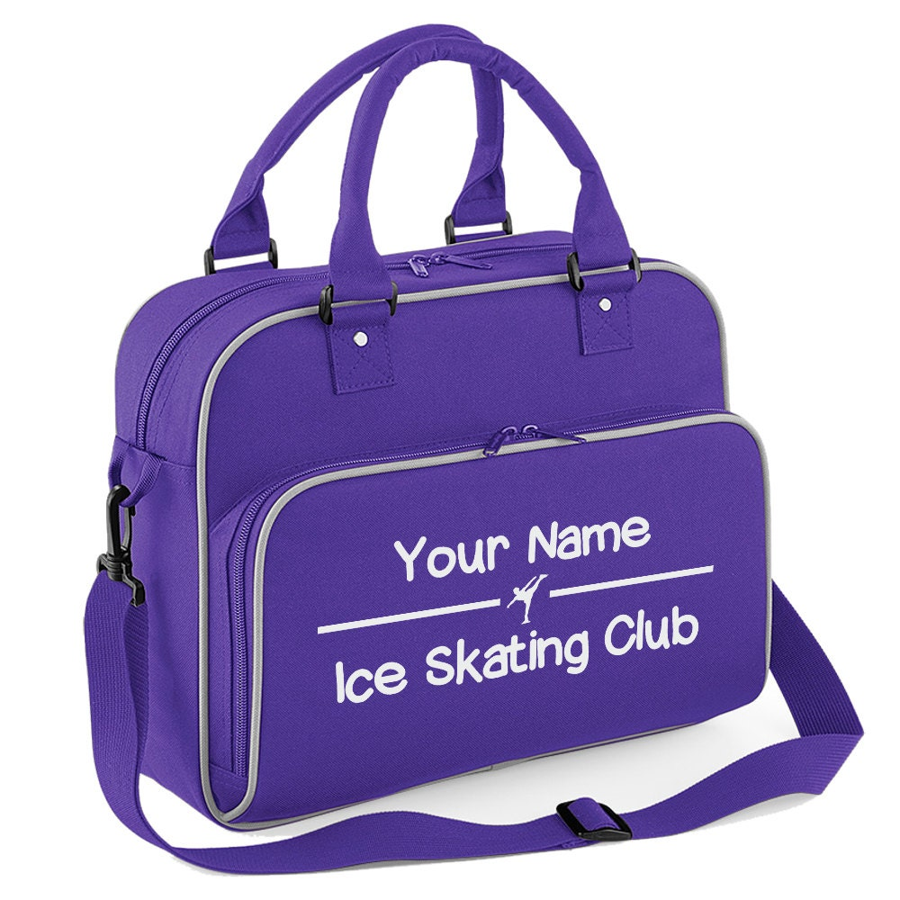 iClobber Personalised Ice Skating Dance Bag  Add your Name Club or Text DB