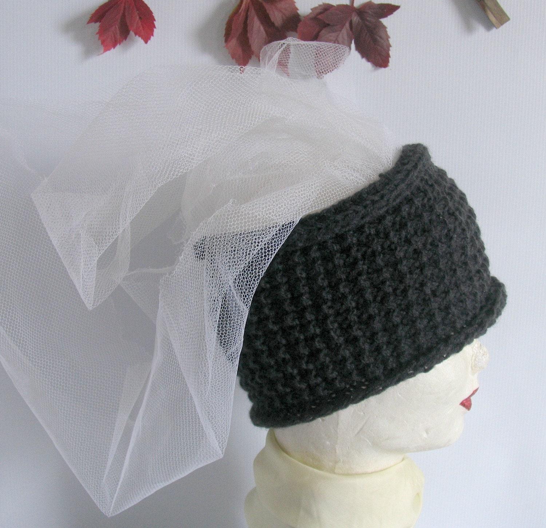 Knitted Headband Ear Warmer Handmade Knit by recyclingroom on Etsy